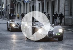 Mille Miglia 2013 – Chris on cars