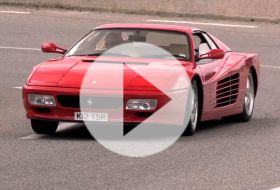 Ferrari 512 TR – Chris on cars