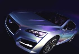 Subaru Advanced Tourer Concept hybrid