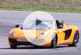 McLaren MP4-12C Spider – Chris on cars