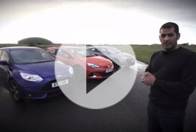 Focus ST vs Astra OPC vs Megane RS – Chris on cars