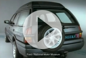 Ford Seeka video – koncept z roku1990