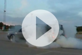 Volvo drift - video