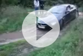 BMW 6 offroad video