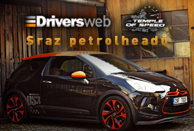 Driversweb a Temple of Speed – sraz petrolheadů