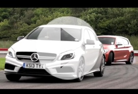 BMW M135i vs Mercedes A45 AMG – Chris on cars