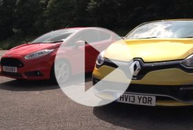 Clio RS vs Fiesta ST Mountune – Chris on cars