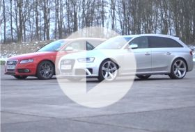 Audi RS4 vs tuned Audi S4 – Chris on cars