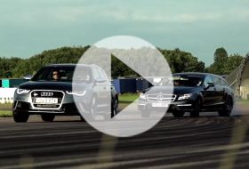 Audi RS6 vs Mercedes CLS63 AMG – Chris on cars
