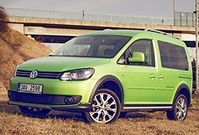 Volkswagen Cross Caddy 2,0 TDI 4Motion – exotika