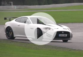 Jaguar XKR-S GT – Chris on cars
