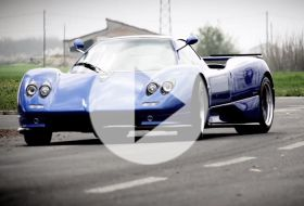 Pagani Zonda S – Chris on cars