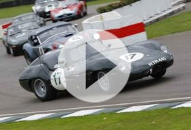 Goodwood Revival TT 2013 – Chris on cars
