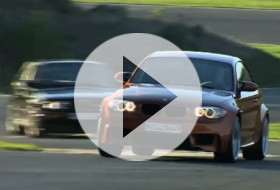 BMW 1 Series M Coupé & BMW M3 E30 EVO – video