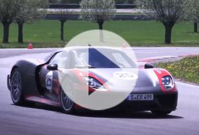 Porsche 918 Spyder – Chris on cars