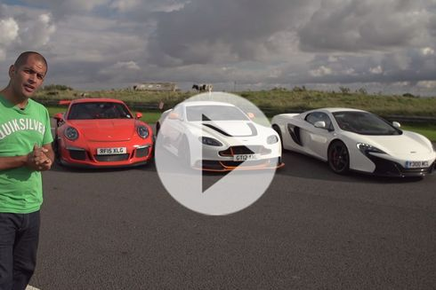 911 GT3 RS x Vantage GT12 x 650S – Chris on Cars