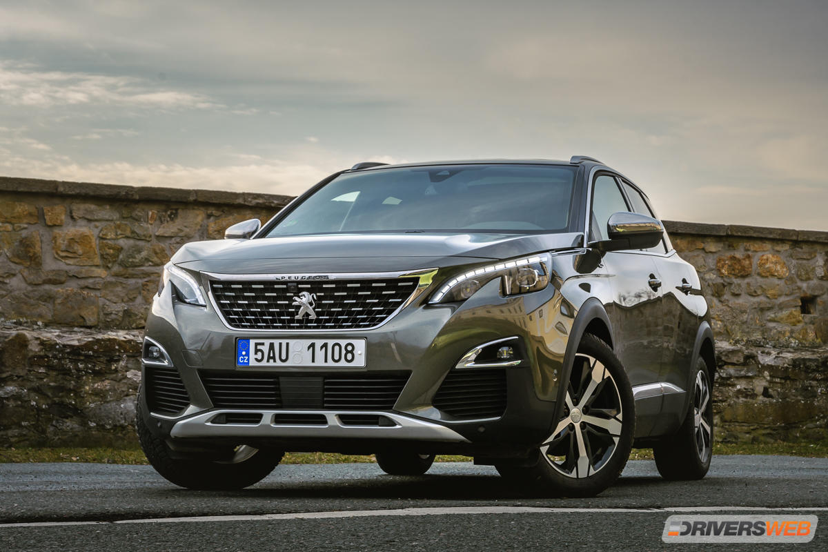 Peugeot 3008 2,0 HDi GT-Line – sexy modelka