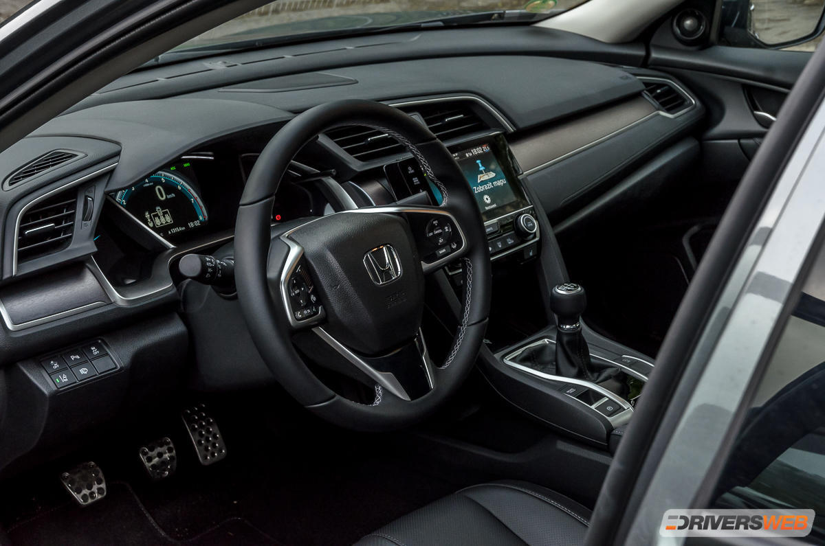 Honda Civic 4D 1,5 turbo – na pohodu